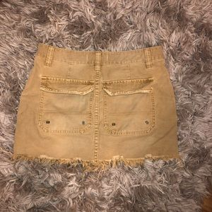Free People Skirts - Canvas Relaxed Mini Skirt